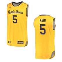 Men's California Golden Bears #5 Jason Kidd NCAA College Basketball Jers... - $59.99