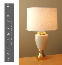 MARVELOUS! FREDERICK COOPER FRENCH EMPIRE TABLE LAMP! CREAM GOLD VTG EAM... - $1,494.00