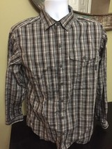 (3A) Mens Columbia Omni Wick Adv. Evaporation Small Button Front Shirt Free S&H  - $32.66