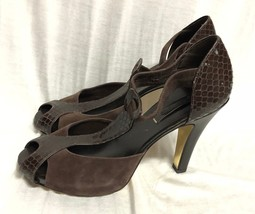BCBG MAXAZRIA SHOES  Heel brown Leather Size: 9/39 - $18.69