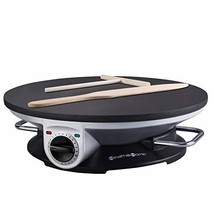 Health and Home No Edge Crepe Maker - 13 Inch Crepe Maker & Electric Gri... - ₹6,024.78 INR