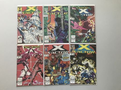 Lot of 11 Lot of 19 X-Factor (1986 1st Series) #27-74