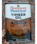 Thompson's Water Seal Mahogany Semi-Transparent Timber Oil Gallon  FREE ... - $31.00