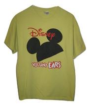 DISNEY VOLUNTEARS T SHIRT Disney Ears Volunteers Mickey Mouse Adult 2 Si... - $9.89