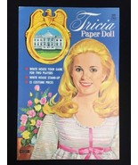 Vintage 1971 President Nixon's Daughter Tricia Paper Doll White House Uncut - $23.20
