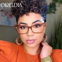 Fashion Ladies Glasses Small Frame Cat Eye Flat Glasses Candy Color Frame Optica