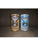 2 Leinie's Light Beer Cans 12 Oz Vintage VTG Natural Light Premium Beer ... - $15.84