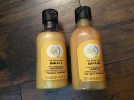 The Body Shop Banana Nourishing Shampoo Conditioner  NEW - $23.09