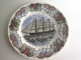 "Currier & Ives Tall Ships Great Republic 10"" Plate Churchill Nautical An... - $19.21"