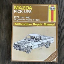 Mazda Pick-Ups  1972-1992  Haynes Repair Manual, Service Guide Book - $12.82