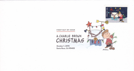 US #5021-30 2015 First-Class Issue Set Charlie Brown Snoopy Contemporary Christm image 8