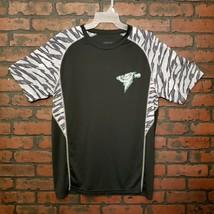 Trenton Thunder Baseball Team Short Sleeve Shirt #15 Zach Zehner Lightni... - $14.99
