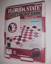 Florida State Seminoles NCAA Jumbo Checker Game Multiflex Designs No. 28... - $24.74