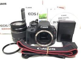 Canon EOS kiss x7 standard lens kit lens Canon digital SLR lens japan F/... - $678.16