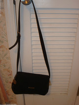 Nine West Black Faux Leather Cross Body Purse Handbag NEW NWT - $38.60