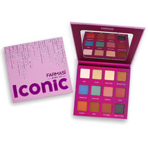 FARMASI MAKE UP ICONIC EYESHADOW PALETTE 12 SHADES - $36.00