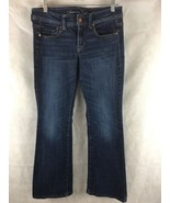 """Women's American Eagle Stretch Low Rise Slim Boot Jeans Size 6 Inseam 28"""" - $26.68"""