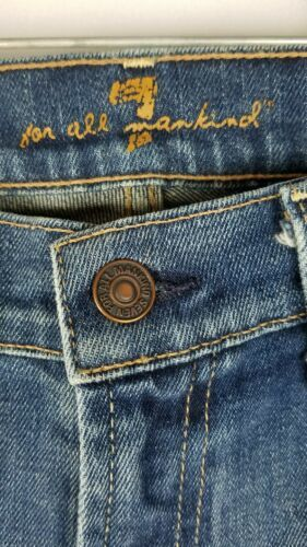7 For All Mankind Damen 32 Blau Bootcut Jeans image 2