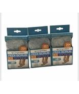 3 Packs Spongeables Pedi-Scrub in a Sponge Shea Butter & Tea Tree Oil 20+ Washes - $14.93