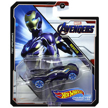 Hot Wheels Marvel Avengers Rescue First Appearance Character Cars MOC - $13.88