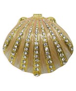 Sea Shell Jeweled Trinket Box with SWAROVSKI Crystals - $49.95