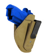 New Barsony Olive Drab Leather Tuckable IWB Holster for Mini/Pocket 22 2... - $32.99