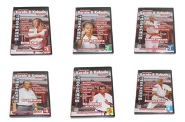 24 DVD SET Okinawan Karate Kobudo Masters Series kata bunkai kumite demos  - $275.00