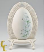 Lazelo Ispanky Goebel 1980 Premier Annuel Porcelaine Oeuf de Pâques - $49.45