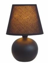 Table Lamp Shade Light Desk Style Reading Bedroom Decor Nightlight Ceram... - $26.28