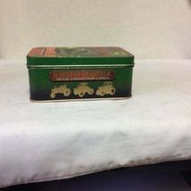 Vintage Set Of 6 Harvest Heritage METAL CARDS In Tin Box Complete Set - $20.00