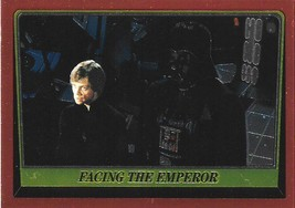 1999 Topps Star Wars Chrome Archives #84 Facing The Emperor > Darth Vader &gt - $1.49