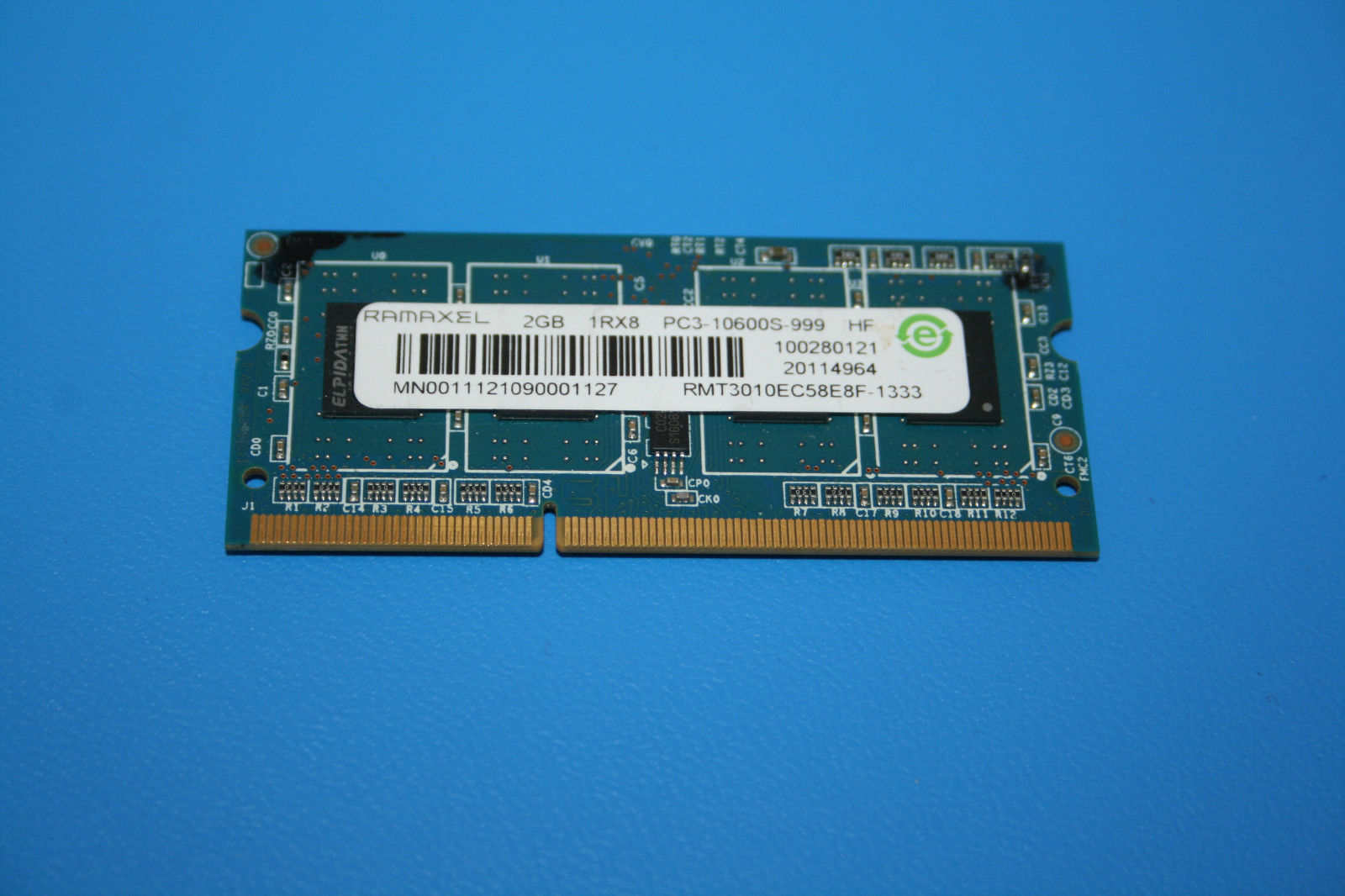 Primary image for Ramaxel 2 GB DIMM 1333 MHz DDR3 Memory (RMT3020EF48E8W-1333)