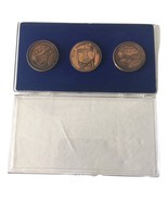 VTG Vintage 1973 Skylab By Galaxy Double Sided Bronze? Coins Medals In C... - $79.99
