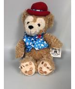 Disney DUFFY hidden mickey Bear AMERICANA USA July 4th citizenship gift - $62.70