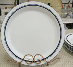 "Dansk Christianshavn Blue 10 1/4"" Dinner Plates Set Of Five - $19.75"