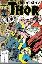 The Mighty Thor Comic Book #374 Marvel Comics 1986 Near Mint New Unread - $4.99