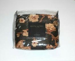Ralph Lauren Rare Harriman Brown NIP King Bedskirt Ruffle Made in USA - $59.00