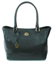 Donna Karan DKNY Black Leather Large Tote Shopper Bag Handbag large - $304.51
