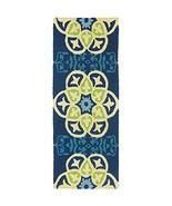"""Jellybean Barcelona Tile Indoor/Outdoor Rug 21"""" X 54"""" - $90.68"""