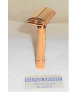 Gillette 1936 Aristocrat Razor TTO Adjustable Re-plated 24 Karat Gold 36–47 - $300.00
