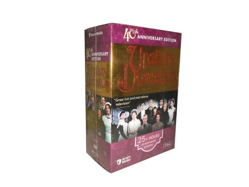 Upstairs Downstairs Complete Series Seasons 1-5 DVD Box 21 Disc Free Shipping