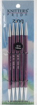 "Knitter's Pride-Zing Double Pointed Needles 6""-Size 10/6mm - $8.24"