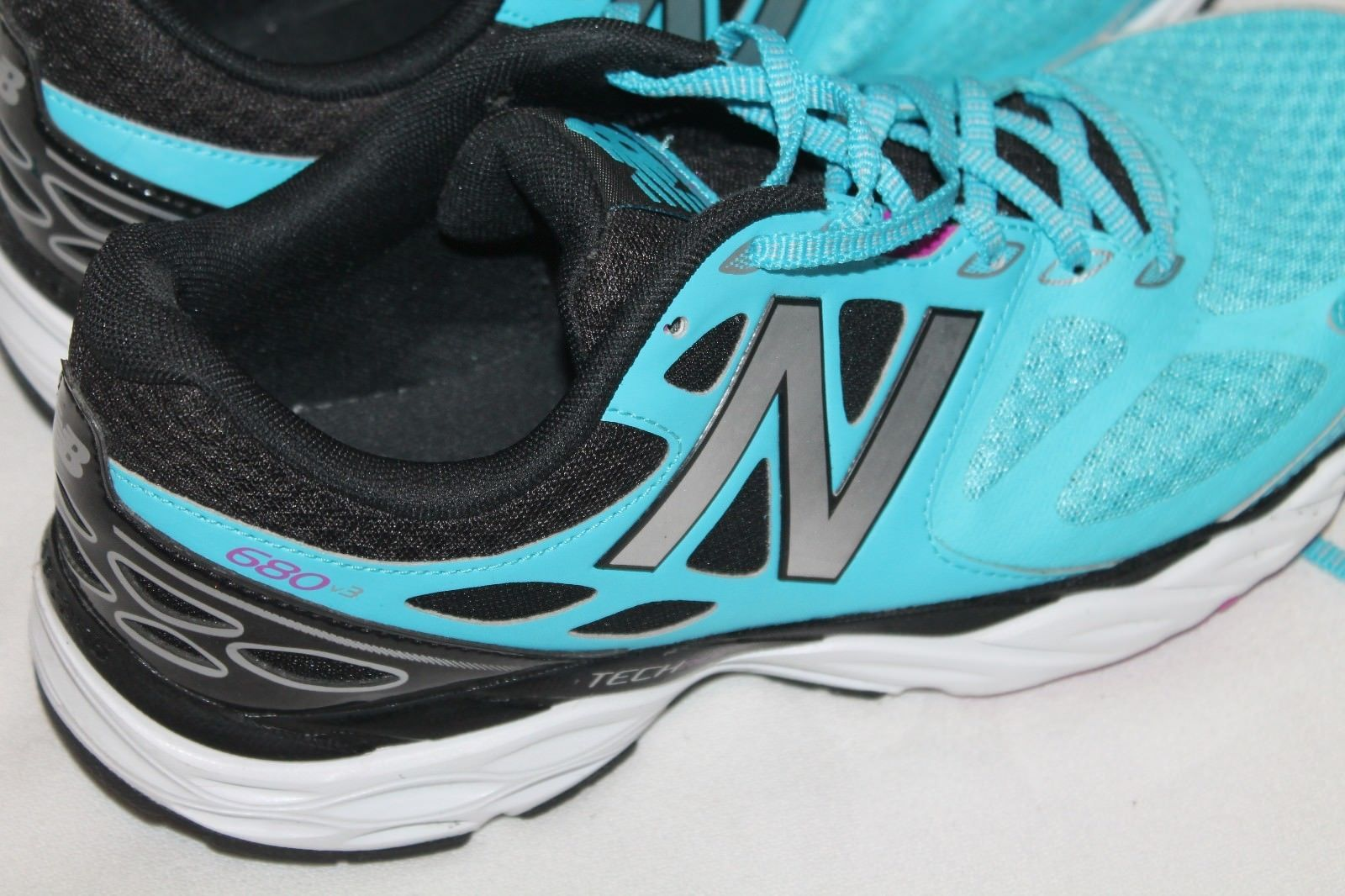 New Balance Running Footwear Womens W680LS3 Athletic Shoes Size 10.5 B