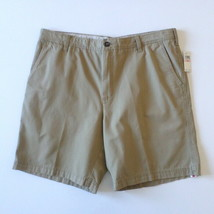NEW Izod Saltwater Mens Casual Walking Shorts 40 Light Brown Cedarwood K... - $20.69