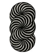 USA Runner Optical Pattern 3'0''x6'0'' ft Handmade Tufted 100% woolen Ar... - $127.71