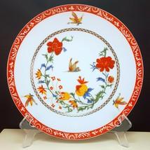 """Chas Field Haviland Bangkok Dinner Plate 10"""" Limoges Porcelain Floral Bu... - $57.42"""
