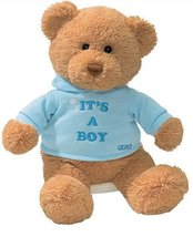 Gund It's A Boy Bear Plush Toy No Size Brown