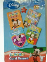 NEW! Mickey Mouse Clubhouse Kids Card Games 3+ Disney Collectible Tin  - $15.99