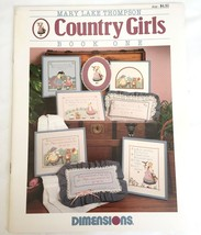 Country Girls Book One Counted Cross Stitch Chart Dimensions #126 - $4.45
