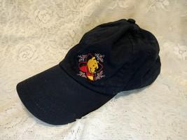 Walt Disney Mickey Mouse Adult Adjustable Hat Navy Blue Baseball Cap - $19.79